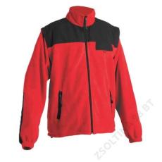 Cerva RANDWIK polár kabát, piros