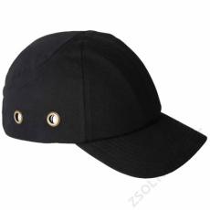 Earline® Fejvédős baseball sapka, fekete
