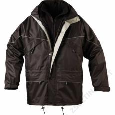 Coverguard ISA 3/1 kabát, fekete -XL