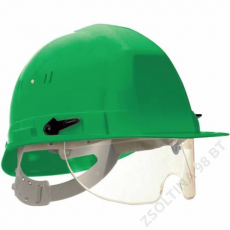 Earline® VISIOCEANIC sisak, integrált szemüveggel, zöld