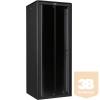"""Lande LN-FS45U8080-BL-111 DYNAmic 45U 800x800 álló rack szekrény 19"""" RAL9005 fekete"""