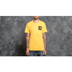 The North Face Shortsleeve Fine Tee Tnf Yellow