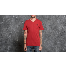 The North Face Shortsleeve Simple Do Tee Cardinal Red