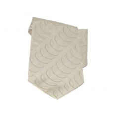 Saint Michael selyem nyakkendõ - Halvány drapp mintás