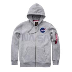 Alpha Indsutries NASA Zip Hoody- szürke