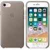 Apple iPhone 8/7 gyári bőr hátlap tok, vakondszürke, MQH62ZM/A