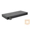 Excel-Networking Optikai patch panel 1U MM LC duplex 24 port, 12 LC duplex toldóval töltve (200-464) EXCEL