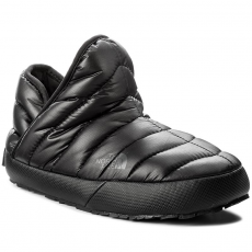 The North Face Zártpapucs THE NORTH FACE - Thermoball Traction Bootie T933IHYWY-050 Shiny Tnf Black/Beluga Grey