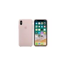 Apple iPhone X gyári szilikon hátlap tok, rózsakvarc, MQT62ZM/A tok és táska