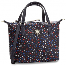 Tommy Hilfiger Táska TOMMY HILFIGER - Poppy Small Tote Star Print AW0AW04653 905