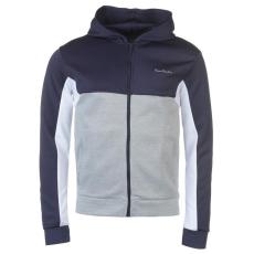 Pierre Cardin Poly férfi kapucnis cipzáras pulóver fehér XL