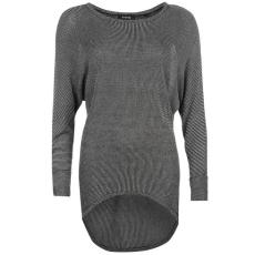 Firetrap Dropped Hem női kötött pulóver sötétszürke L