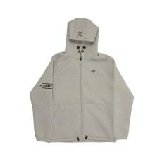 Dorko Mens Hoody Jacket férfi kapucnis cipzáras pulóver szürke XS
