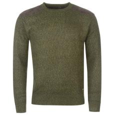 Pierre Cardin Bonded férfi kötött pulóver keki L