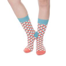 Wilky Retro Square zokni többszínű