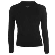 Firetrap Blackseal Wrap női pulóver fekete M