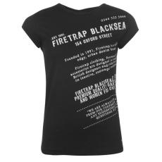 Firetrap Blackseal Dionne Bird női póló fekete M
