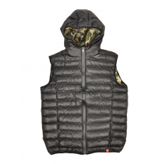 Dorko Snowball Vest Black/camo férfi mellény fekete 3XL