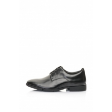 Clarks , Daulton Derby Cipő, Fekete, 6.5 (DAULTON-WALK-BLACK-LEATHER-6.5)