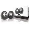 Sweex Hangszóró 2.0 Vezetékes 4 W Fekete/Ezüst Sweex sw20sps110bl