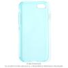 CELLECT iPhone 8 Plus vékony TPU szilikon hátlap, Kék