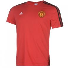 Adidas Manchester United 3 Stripe póló férfi