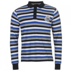 Team Newcastle United hosszú ujjú galléros póló férfi