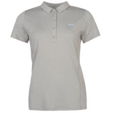 Slazenger női ingpóló - szürke - Slazenger Plain Golf Polo Shirt Ladies