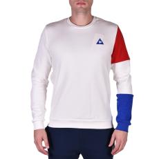 Le Coq Sportif Tri Sp Bbr Cotontech Crew Sweat férfi kapucnis pulóver fehér M