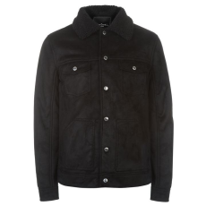 Pierre Cardin Suede férfi kabát fekete XXL