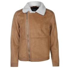 Pierre Cardin Biker férfi kabát barna M