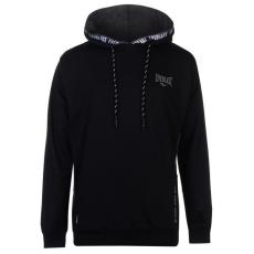 Everlast Jacquard férfi kapucnis pulóver fekete M