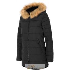 4F Kabát 4f W H4Z17-KUD007 fekete