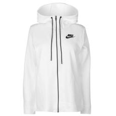 Nike női cipzáras kapucnis pulóver - Nike AV15 Zip Hoodie - fehér