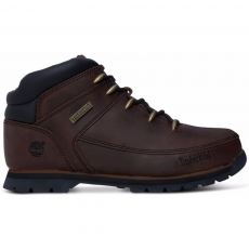 TIMBERLAND Euro Sprint Csizma,hótaposó D (CA1316-r_dark brown-dark brown)