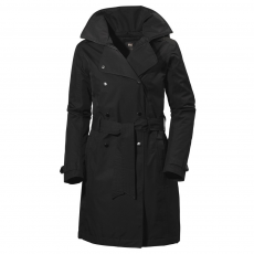Helly Hansen W Welsey Trench Insulated Utcai kabát,dzseki D (64000-r_990 Black)