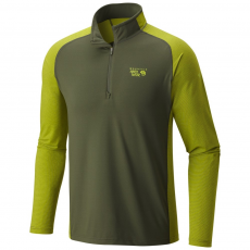 Mountain Hardwear Butterman 1/2 Zip Aláöltöző D (1617561-r_347-Surplus Green)