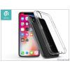 Devia Apple iPhone X szilikon hátlap - Devia Anti-Shock - crystal clear