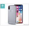 Devia Apple iPhone X hátlap - Devia Mirror - silver