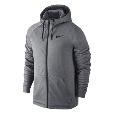 Nike Therm FZ férfi kapucnis cipzáras pulóver szürke XL