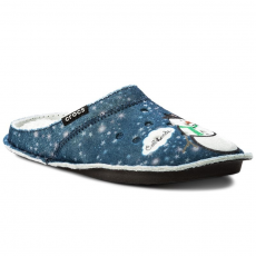 CROCS Zártpapucs CROCS - Classic Graphic Slipper 204565 Navy