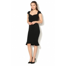 Lipsy London , Bodycon Ruha, Fekete, 12 (EF00525-BLACK-12)