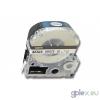 Epson Utángyártott Epson LK-2WBN 6mm*8m fekete-fehér feliratozószalag kazetta