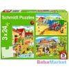 Schmidt: Farmon 3 az 1-ben puzzle