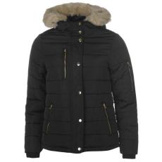 Golddigga női kabát - Golddigga Bubble Jacket Ladies - fekete