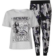 Character női pizsama szett - Disney Villains - Character PJ Set Ladies
