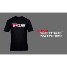 Scitec Nutrition Pushfwd póló - fekete