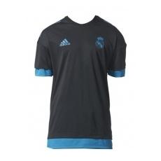 Adidas Real Madrid fĂŠrfi póló trĂŠning Presentation black - M