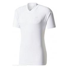 Adidas Real Madrid fĂŠrfi póló trĂŠning white li - M