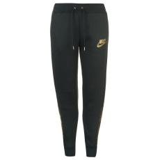 Nike női melegítőnadrág - Nike Metallic Pants - zöld/metalic